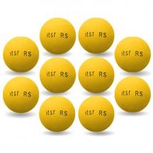 Lote de 10 bolas Roberto Sport ITSF amarillas