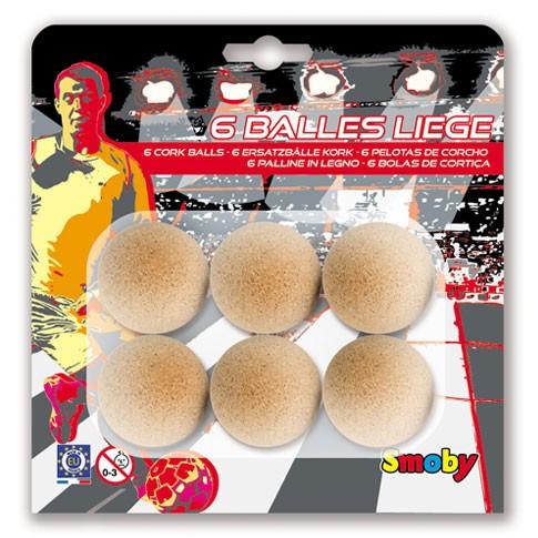 6 bolas corcho 35mm