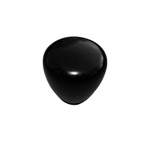 acheter poignee ronde lisse noire babyfoot