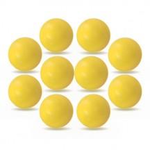 Lote de 10 bolas Roberto Sport ITSF demarcadas amarillas