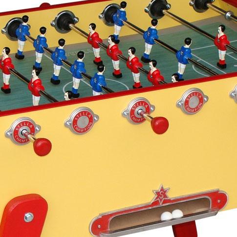 futbolin stella champion collector amarillo pequeno precio