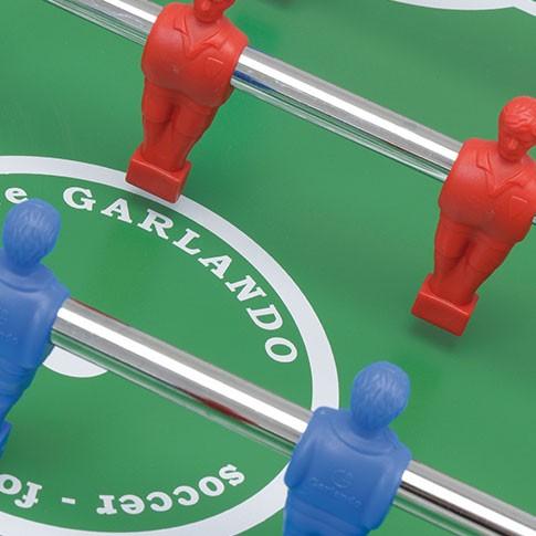futbolin indoor jugador rojo azul