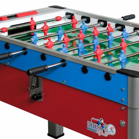 futbolin new camp azul rojo roberto sport
