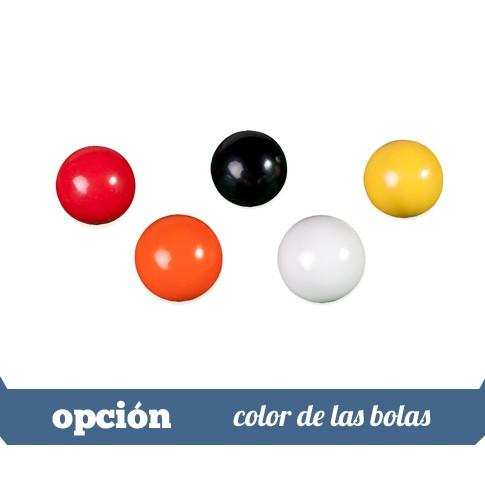 color de las bolas