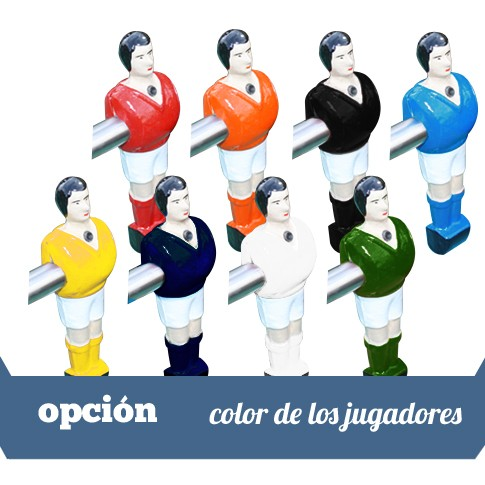 color jugadores
