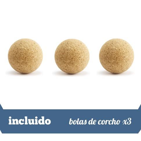 3 bolas de corcho