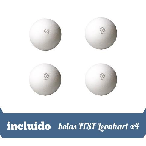 4 bolas ITSF Leonhart