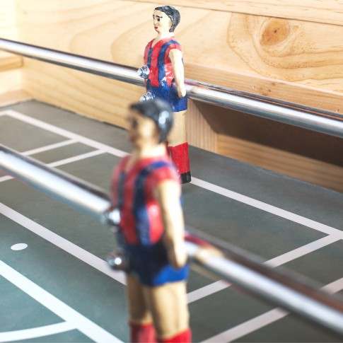 futbolin val con jugadores espanoles
