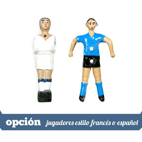jugadores estilo frances o espanol