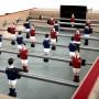 futbolin Marius con jugadores rojos y azules